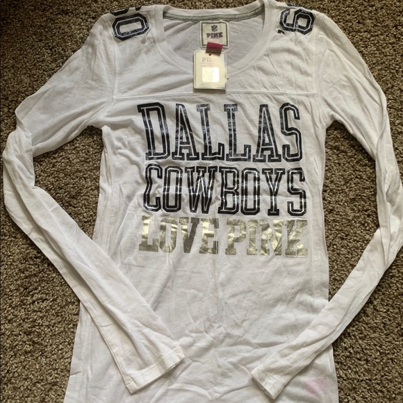 721edc64eea PINK Victoria's Secret Tops | Pink Victorias Secret Dallas Cowboys ...